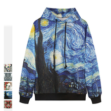 autumn Hooded Sweatshirt Men/Women Hoodies Painting 3D death Digital printing fashion pullover Loose lovers