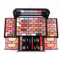 80 Colors Makeup Set Professional Eyeshadow Palette Kit Beauty Glazed Matte Lipstick Blusher Powder Makeup Kit Cosmetic Woman