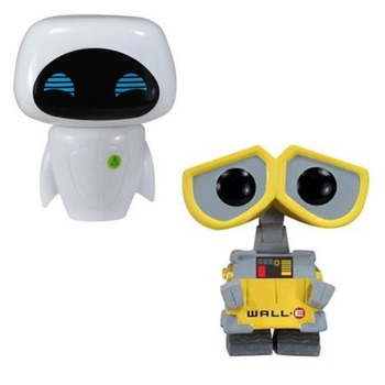 FUNKO POP WALL-E 45# & Eve #44 Action Figure Toys PVC Movie Figure Decoration Model Dolls for Kids Christmas Birthday Gifts 2