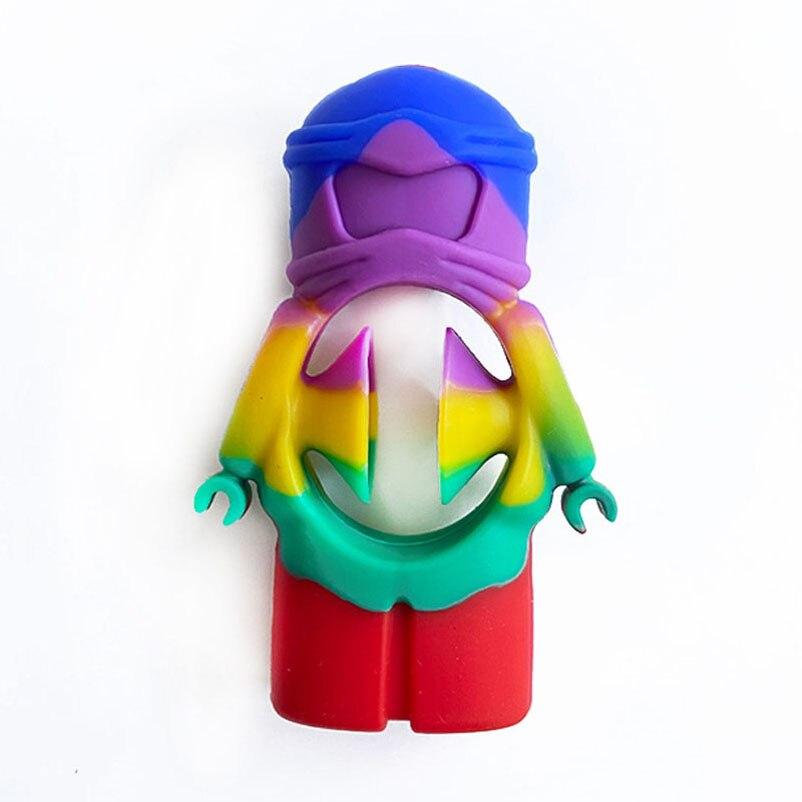 Anti-Stress poignée de doigt soulagement du Stress jouets Fidget jouets adulte enfant Simple fossette jouets Anti-Stress décompression Dropshipping 3