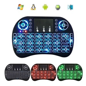 Mini Wireless 2.4Ghz Keyboard Backlit,Three Light Switch Perfect for Raspberry Pi PC / Android bd #289573