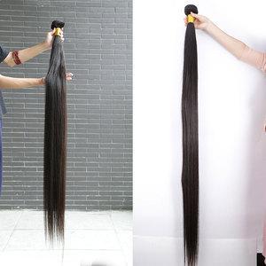 Links 8- 40 дюймов бразильские пряди для волос 1/3/4 прямые пряди естественного цвета 28 30 32 34 дюйма пряди для наращивания Remy