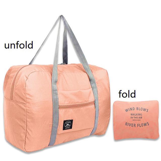 Large capacity fashion travel bag