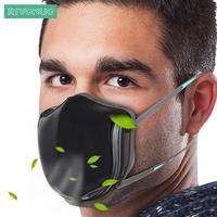 Электрический Очиститель свежего воздуха PM2.5 n95 анти загрязнения пыли маска для аллергии Asithma пыли рабочего места