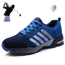 Men golf shoes breathable summer outdoor grass walking golf shoes professional businessman leisure golf shoes