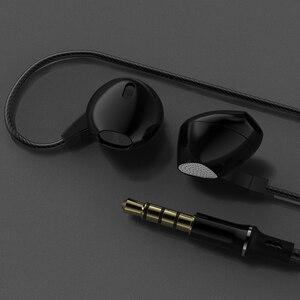 Image 5 - Verhux P10 słuchawki słuchawki 3.5mm Hifi z redukcją szumów zestaw słuchawkowy Stereo z basami z mikrofonem do telefonów komórkowych muzyki słuchawka