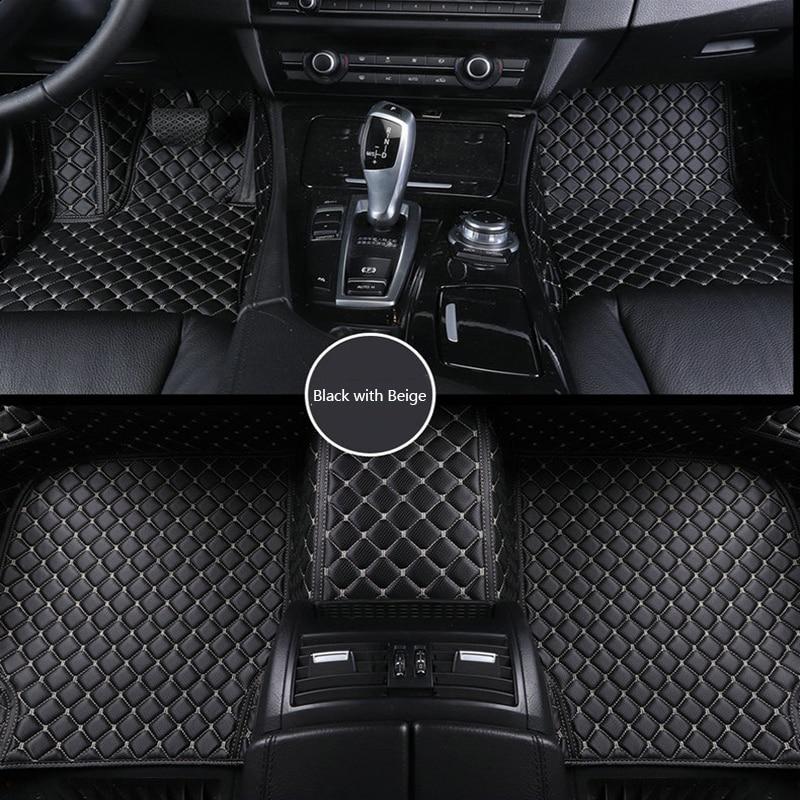 ZRCGL Custom Car floor mat for Chrysler All Models 300c 300s Sebring PT Cruiser Grand Voyager car styling auto accessories