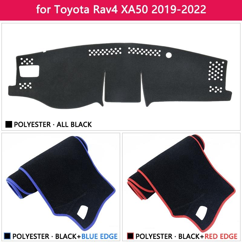 cheapest Dashboard Cover Protective Pad for Toyota Rav4 XA50 2019 2020 RAV 4 XA 50 Car Accessories Dash Board Sunshade Carpet Dashmat