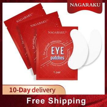 NAGARAKU New Patches Eyelash Under Eye Pads Lash Eyelash Extension  Patches Eye Tips Sticker Wraps Makeup tools 1