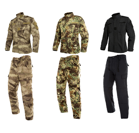 2020  Black Military Uniform Camouflage Suit Tatico Tactical Military Camouflage Airsoft Paintball Equipment Clothes 2