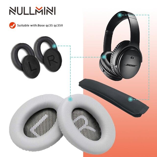 NullMini wymienne słuchawki nauszne do słuchawek Bose QC35 QC35II słuchawki nauszne słuchawki douszne