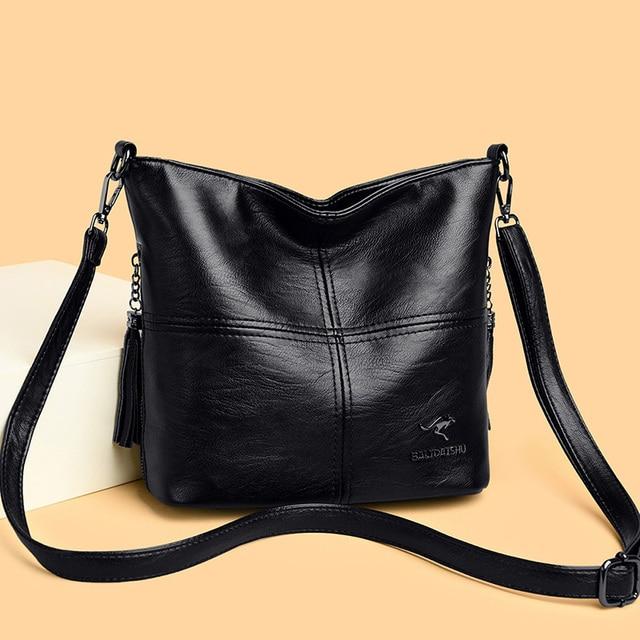 Velho tang tendência senhoras sacos de ombro para as mulheres 2020 novas bolsas de luxo grande capacidade couro mulher crossbody saco 5