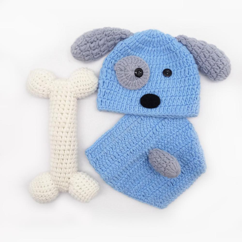 Children photography Hand-knitted baby photo clothes newborn photography props CHD30011 image