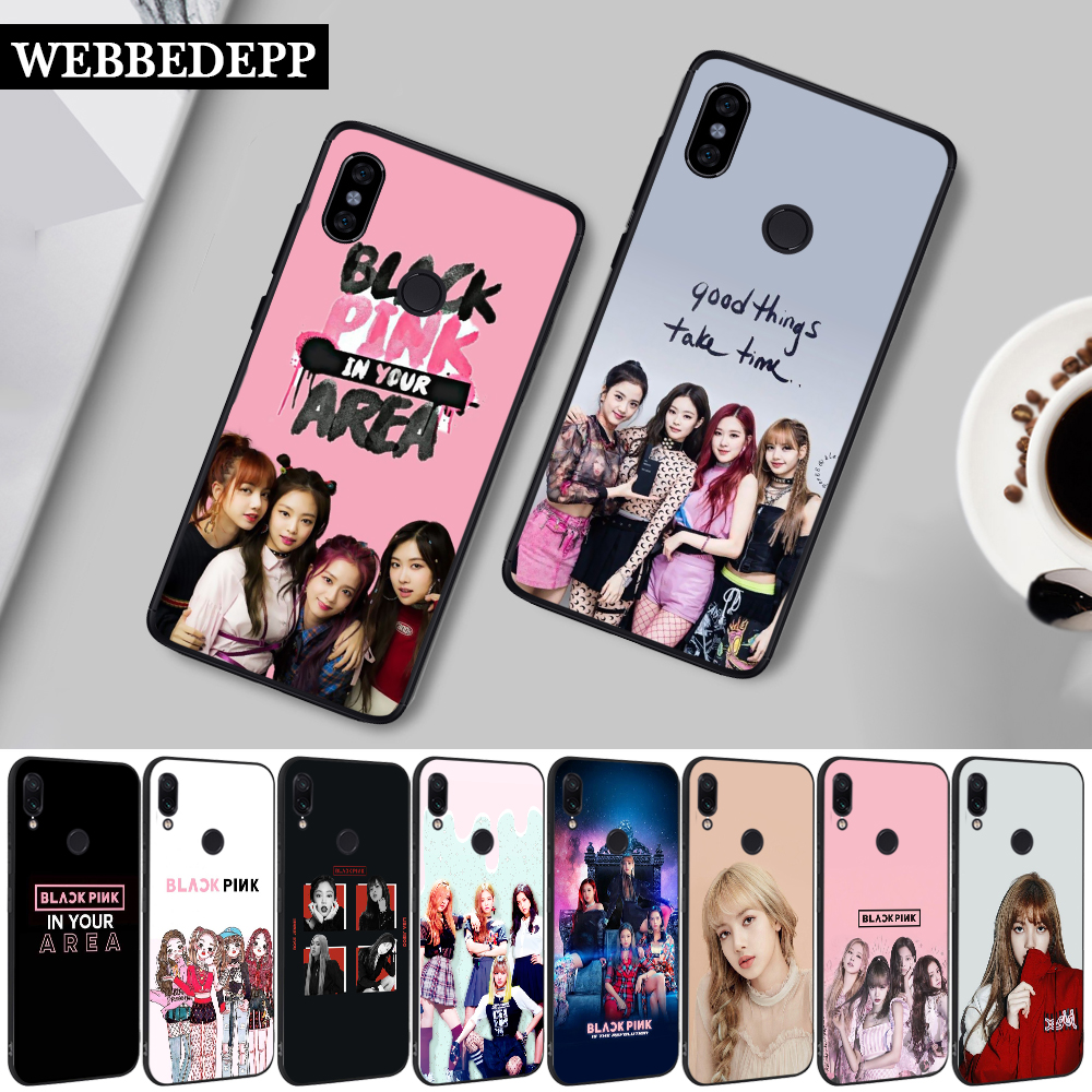 15W BLACKPINK LISA <font><b>Kpop</b></font> Newly Silicone <font><b>Case</b></font> for Xiaomi <font><b>Redmi</b></font> <font><b>Note</b></font> 4X 5 6 <font><b>7</b></font> 8 8T Pro 5A Prime image