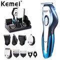 Kemei 11 в 1 Профессиональная электрическая машинка для стрижки волос для мужчин триммер Стрижка волос Бритва для носа борода бритва Инструмен...