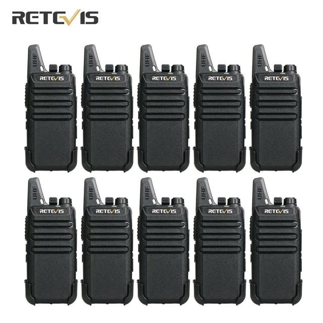 Портативная рация Retevis RT622 RT22 PMR446, 10 шт., оптовая цена, Портативное двухстороннее радио VOX, бесплатная доставка, 1 2 км, гостиничный Ресторан