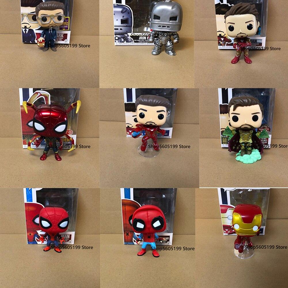 Новая модель игрушек для детей с изображением тайн Тони Старк Тор Железный человек Капитан Америка с коробкой|Игровые фигурки и трансформеры|   | АлиЭкспресс