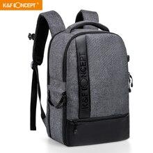 K & F CONCEPT moda wielofunkcyjna torba wodoodporny aparat fotograficzny plecak duży rozmiar torby na laptopa do Canon Nikon Sony Fujifilm SLR
