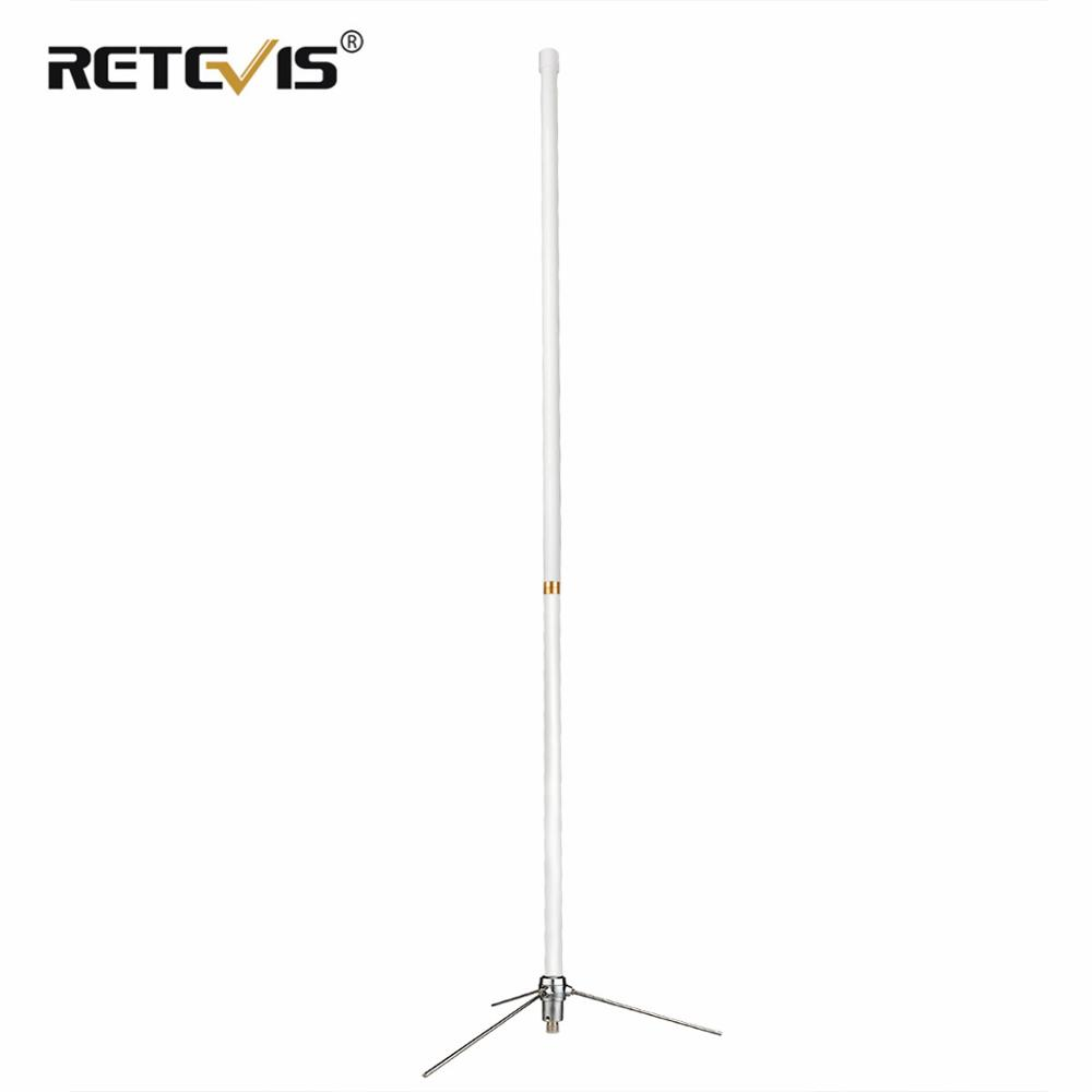 Retevis MA02 Fiberglass Omni-Directional Base Station Antenna SL16-K VHF UHF Repeater Antenna For Retevis RT97/RT9550/RT92