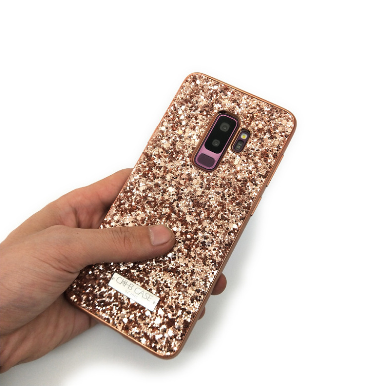 Image 5 - Wholesale 10pcs/lot Women Phone Glitter Case For samsung galaxy note 9 note8 S9 Plus Back Cover case Full Protect Matte Cases-in Fitted Cases from Cellphones & Telecommunications