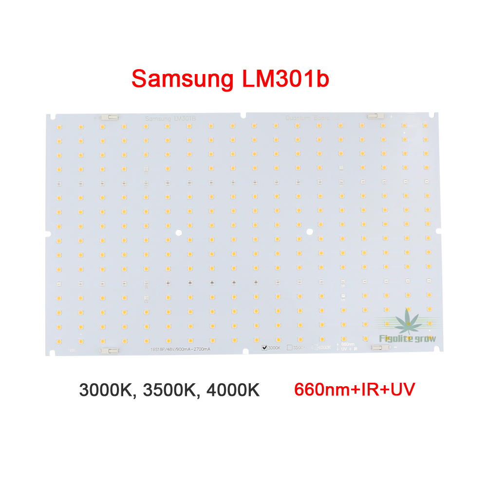 LM301b QB288 Quantum Samsung LED Board V2 3000K 3500K  Mix 660nm Board Only,no Driver, No Heat Sink
