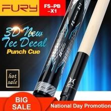 Fury Billiard Punch Cue FS-PB-X1 13mm Tip Professional Pool Punch Cue Billiard Stick High Quality billar Break Cue Kit with Gift mcelligot s pool pb