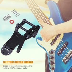 Image 3 - Запасные части для электрогитары Vibrato LP, отличные сплавы, золотой, серебряный и черный, запорный мост, кривошипная планка