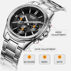 Image 3 - Casio montre bracelet hommes top marque de luxe montre à quartz étanche hommes lumineux montre sport militaire montre relogio masculino reloj hombre erkek kol saati zegarek meski MTP 1375 часы мужские