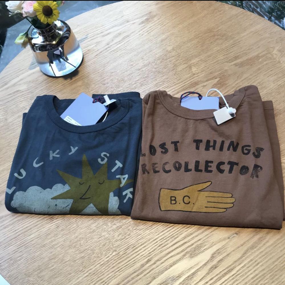 Kids T Shirts 2021 New Autumn Brand Design Boys Girls Cute Print Long Sleeve Tops Baby Children Cotton Fashion T Shirts Clothes 6