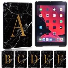 26 letters pattern tablet case for apple ipad mini1/2/3/4/5/ipad2/3/4/ipad