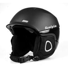 Мужские взрослые зимние мотоциклетные лыжные шлем для сноуборда снаряжение для снежной безопасности скейт для верховой езды альпинистский шлем