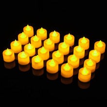 LED Candle Outdoor Flame-Light Battery-Operated Flickering-Flames Wedding Realistic Party-Decor