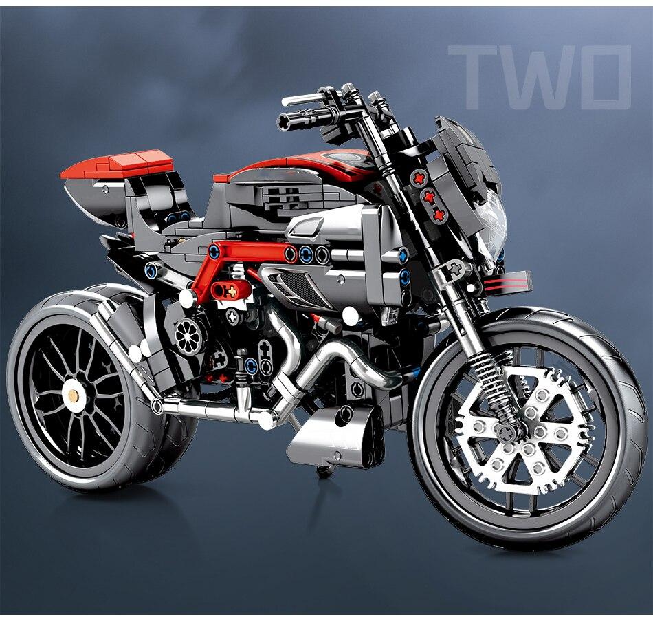 "конструктор huiqibao ""мотоцикл"""