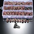 338 шт. Набор принадлежностей для роторного инструмента сверления ногтей набор шлифовальных аксессуары для полировки комплект с ящик для хр...