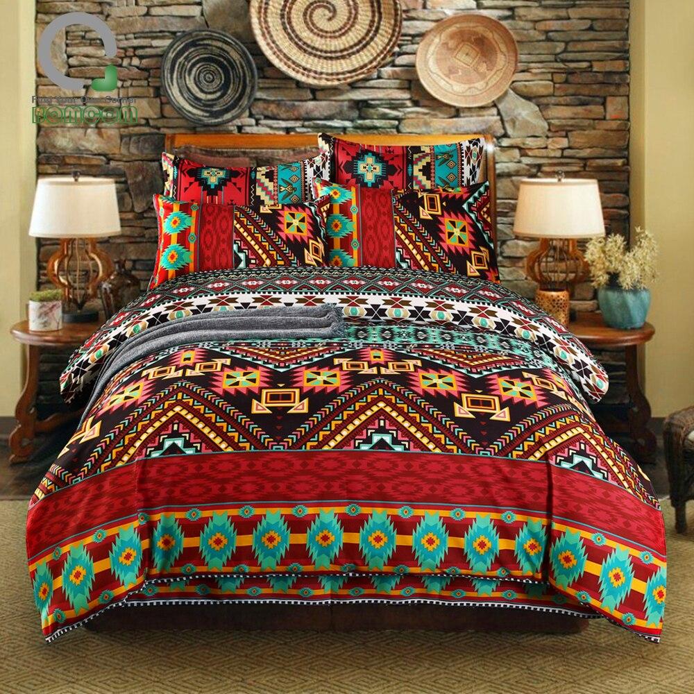 do vintage hipster aztec casa têxtil boêmio