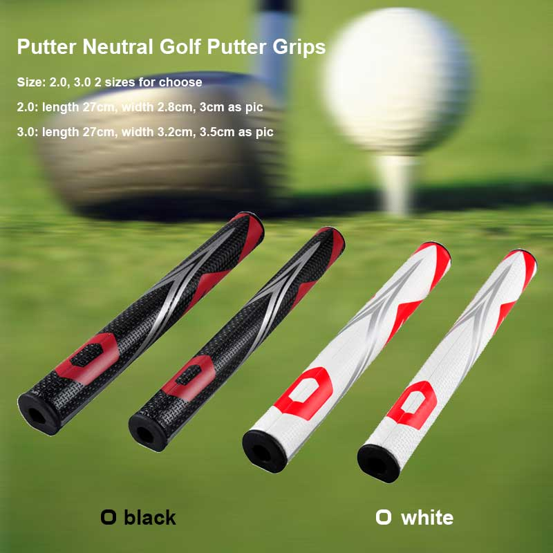 Golf Grip Golf Clubs PU Putter Neutral Grips 2.0 3.0 Ultralight Black White Unique Design Anti Slip Length 27cm 45g 60g