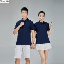 HOWE AO Men's Polo Shirt masculina Shirt Cotton Short Sleeve shirt Brands jerseys Summer Sports jersey women's Tops