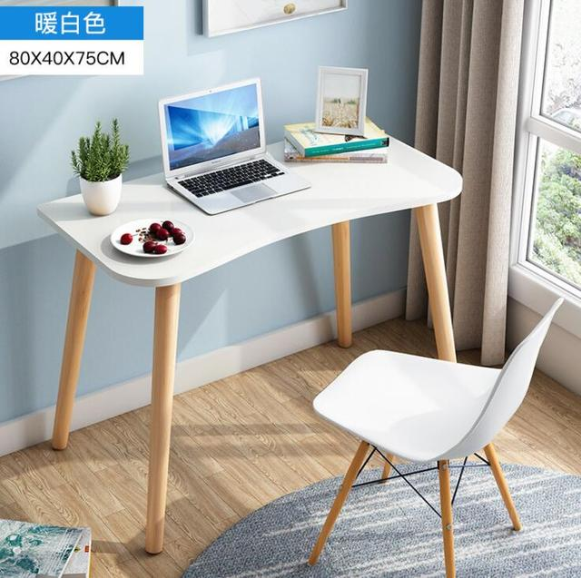 Desktop Home Computer Desk Modern Desk Creative Writing Desk Bedside Bedroom Wood Student Desk