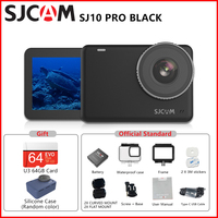Sjcam SJ10 Pro Sport Action Camera 4K 60FPS Video Waterdicht Tot 30M Gyro Eis Stabilisatie Steady Cam Wifi remote Actie Camera