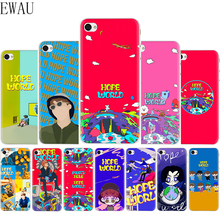 EWAU Hope World Soft Silicone Mattle phone cover Case for