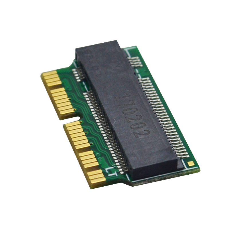 12 & 16 Pin Ngff M.2 Nvme Ssd Convert Card Adapter Card For Air A1465 A1466 Pro A1398 A1502 Upgrade 2013-2015 Support Ss