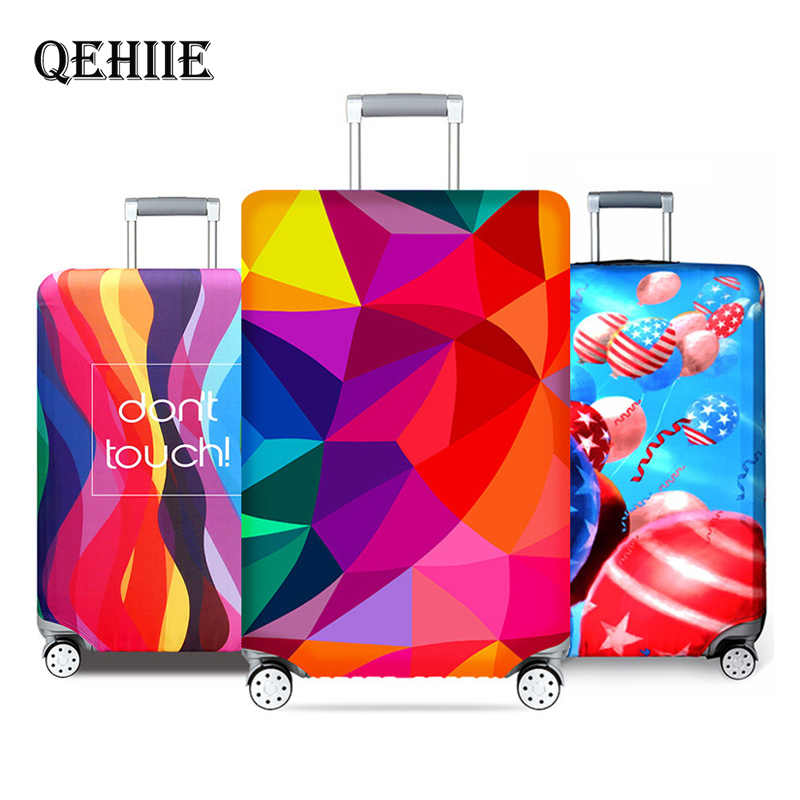 New York Paris Thicken Luggage Protective Cover 18-32inch Trolley Baggage Travel Bag Covers Elastic Protection Suitcase Case 271
