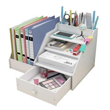 Desk Magazine Organizer Book Magazine Holder Stationery Storage Organizer Multifunctional DIY Storage Box Office School Supplies отсутствует office magazine 12 56 декабрь 2011