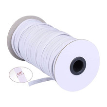 70/100/200 Yards String Elastic Band Rope Thickness 6mm High Elastic Braided Spools Safe Non-toxic For DIY Sewing Crafts TP899(China)