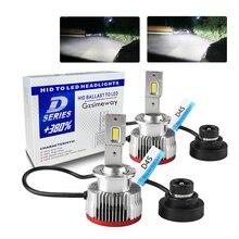 2Pcs auto licht D3S D1S D2S D5S D8S D4S LED canbus Led lampe Scheinwerfer D1R D2R D3R D4R High Power 70w 15200lm ersetzen auto HID scheinwerfer
