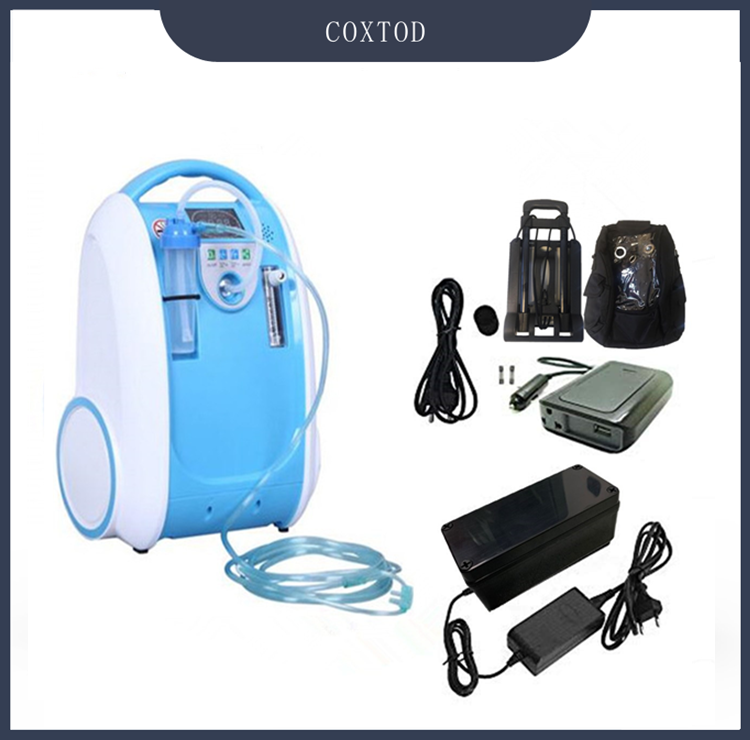 COXTOD Home Use Battery Operated Portable Oxygen Concentrator Generator +  Car Inverter + Carry Bag + Trolley In Stock Now|oxygen generator|oxygen  concentrator generatoroxygen concentrator - AliExpress