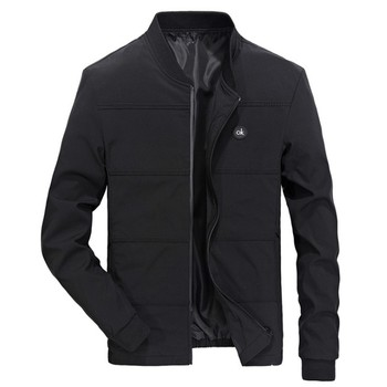 Spring Jackets Mens Pilot Bomber Jacket Male Fashion Baseball Hip Hop Coats Slim Fit Coat Brand Clothing
