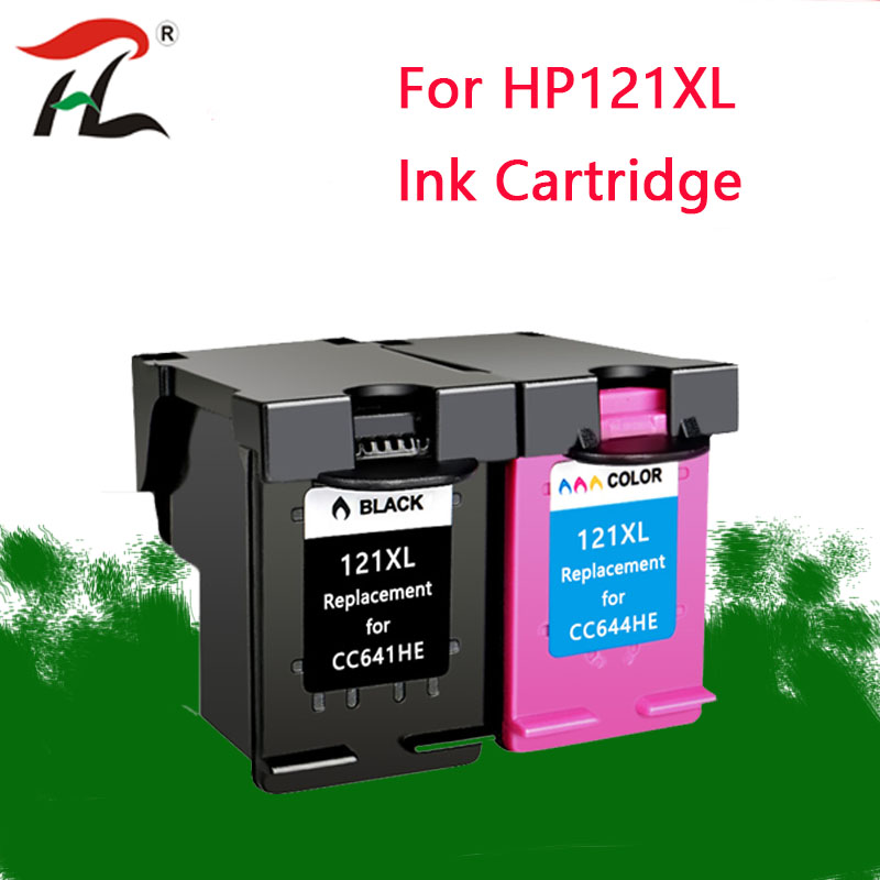 YLC 121XL compatible ink cartridges for HP 121XL hp121 for HP Deskjet F4283 F2423 F2483 F2493 F4213 F4275 F4283 F4583 printer-in Ink Cartridges from Computer & Office