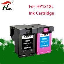 YLC 121XL mürekkep hp için kartuş 121xl hp 121 hp için kartuş Deskjet D2563 F4283 F2423 F2483 F2493 F4213 F4275 F4283 yazıcı