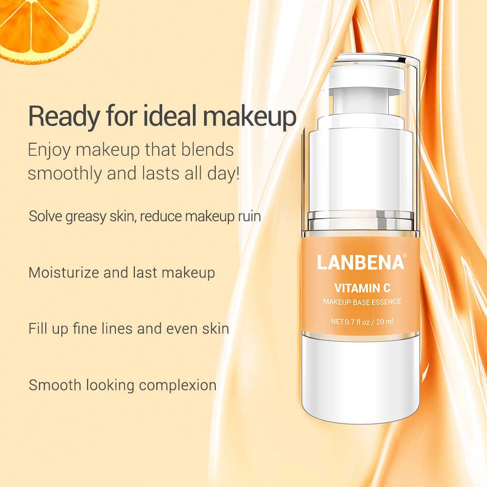 นาฬิกา LANBENA แต่งหน้าฐาน Essence Face Primer Professional Foundation Facial Serum Skin Care หดรูขุมขนปรับแต่งผิวกระจ่างใส